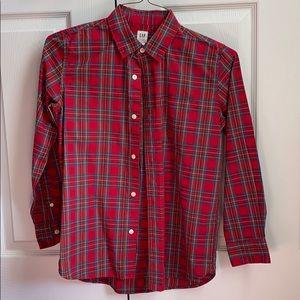 Gap kids button down shirt size 12